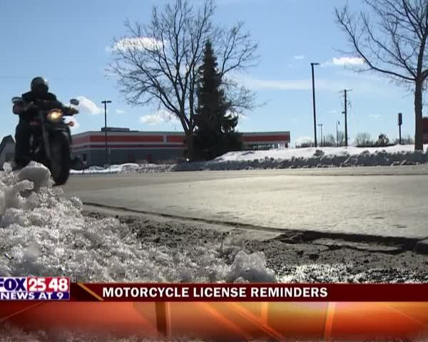 Motorcycle License Reminders_39310690