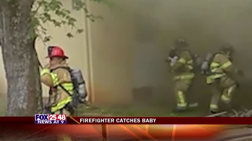 Firefighter Catches Baby_30145951