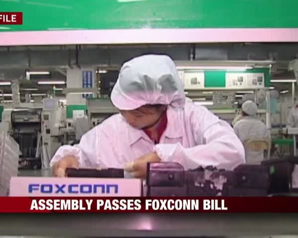 Wisconsin State Assembly Passes Foxconn Package_99144425