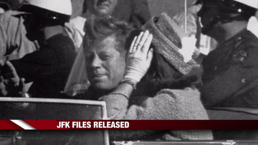 Secret JFK Files Released_37549349