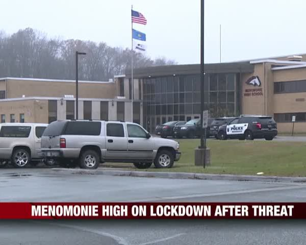 Menomonie High on Lockdown After Threat_95356245