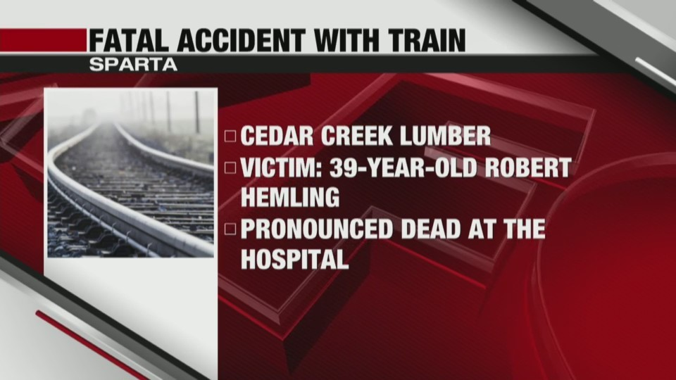 Fatal Accident with Train in Sparta