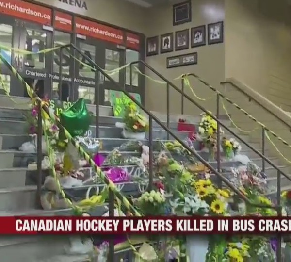 Canadian Hockey Players Killed in Bus Crash