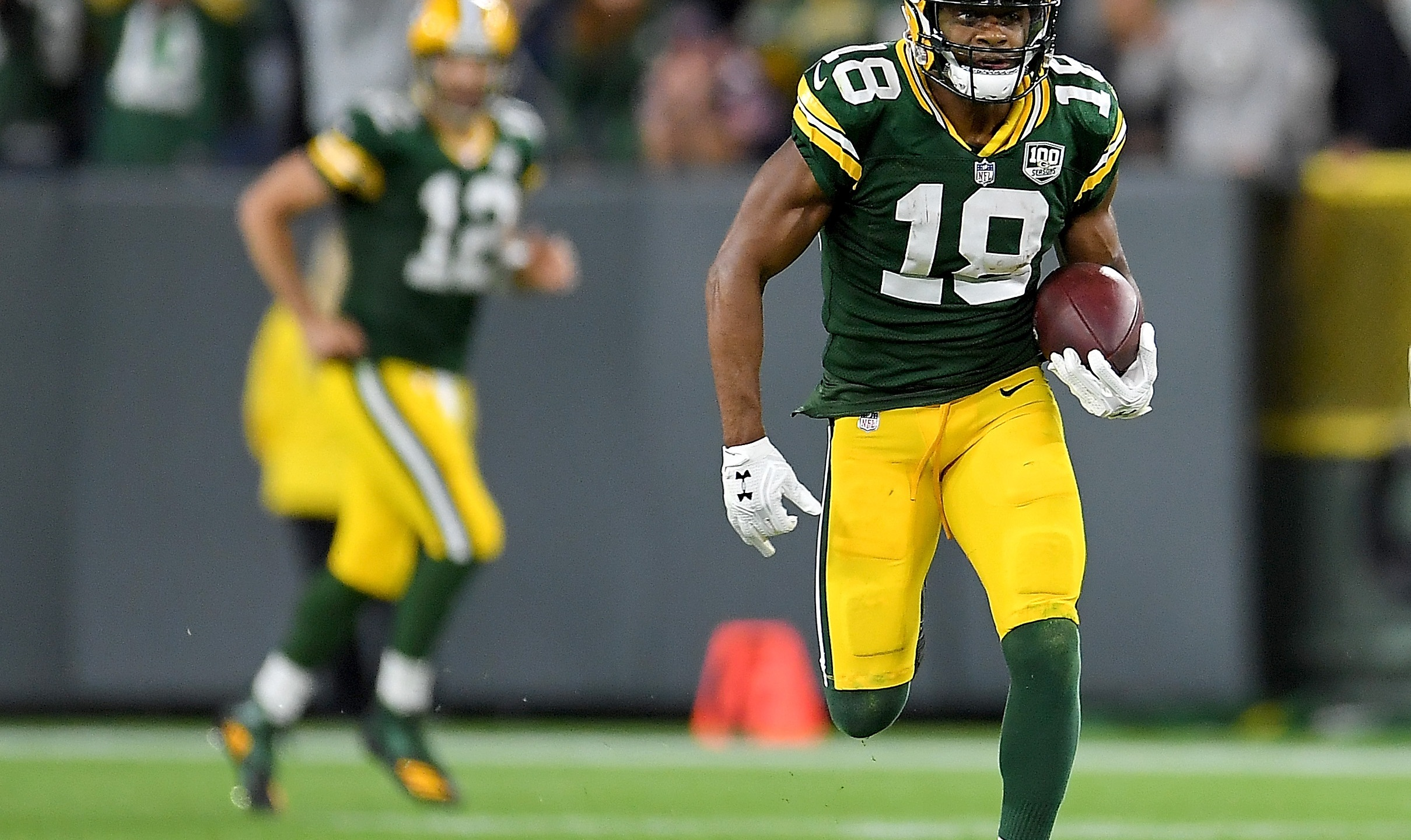 Packers Randall Cobb vs. Chicago Bears
