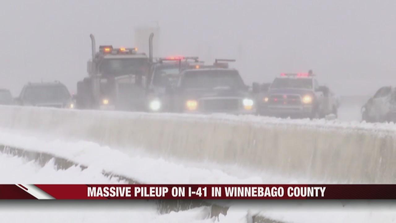 One Dead, Many Injured After Multi-Vehicle Crash on I-41
