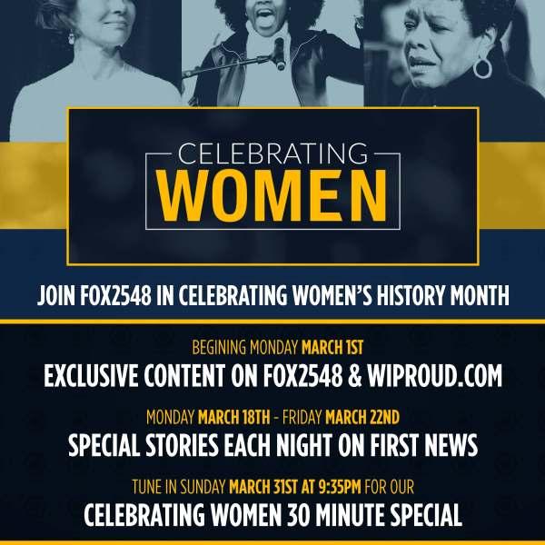FOX2548 MARCH WOMEN'S HISTORY