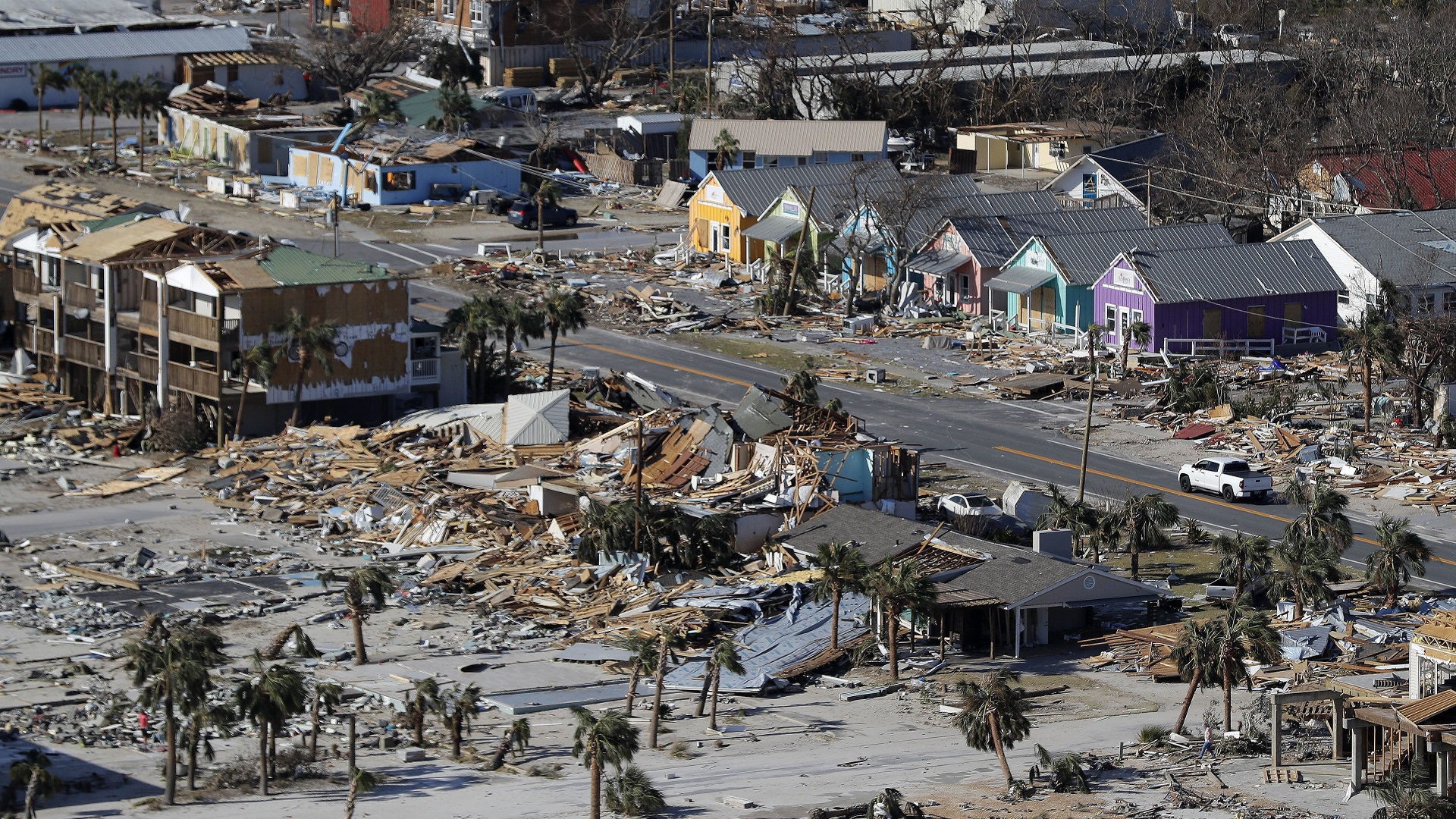 Mexico Beach Hurricane Michael-846652698