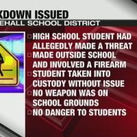 Lockdown issued