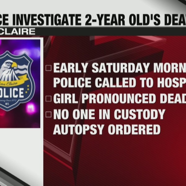 Police investigate 2 year old's death