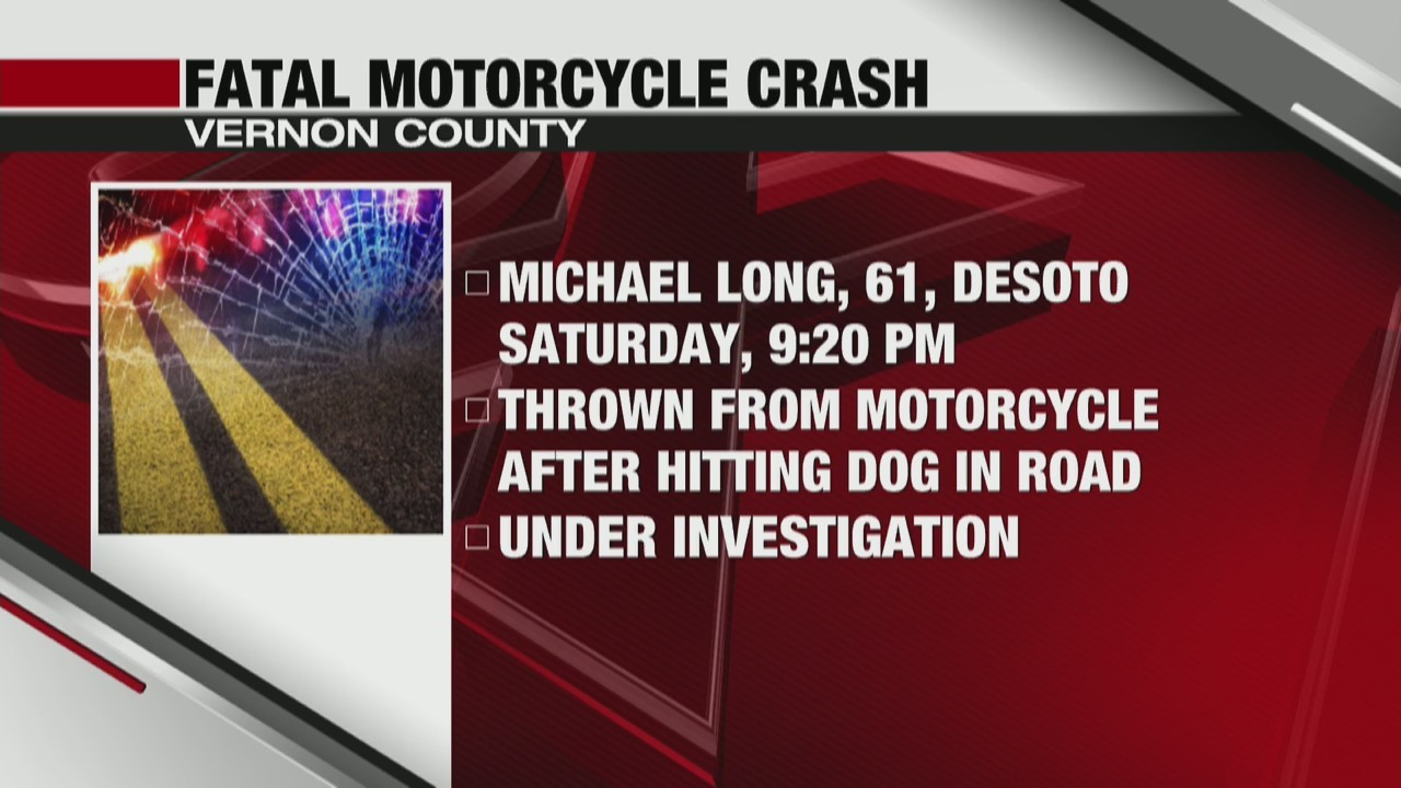 One killed in motorcycle crash in Vernon County