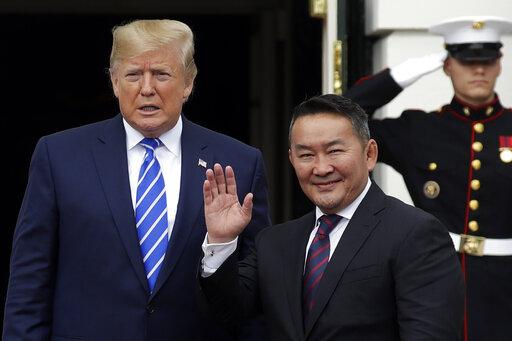 Donald Trump Khaltmaa Battulga