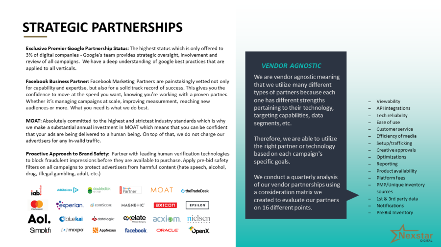 NXD Partnerships
