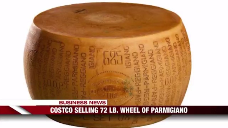 Fox First Update: Costco selling 72 pound wheel of