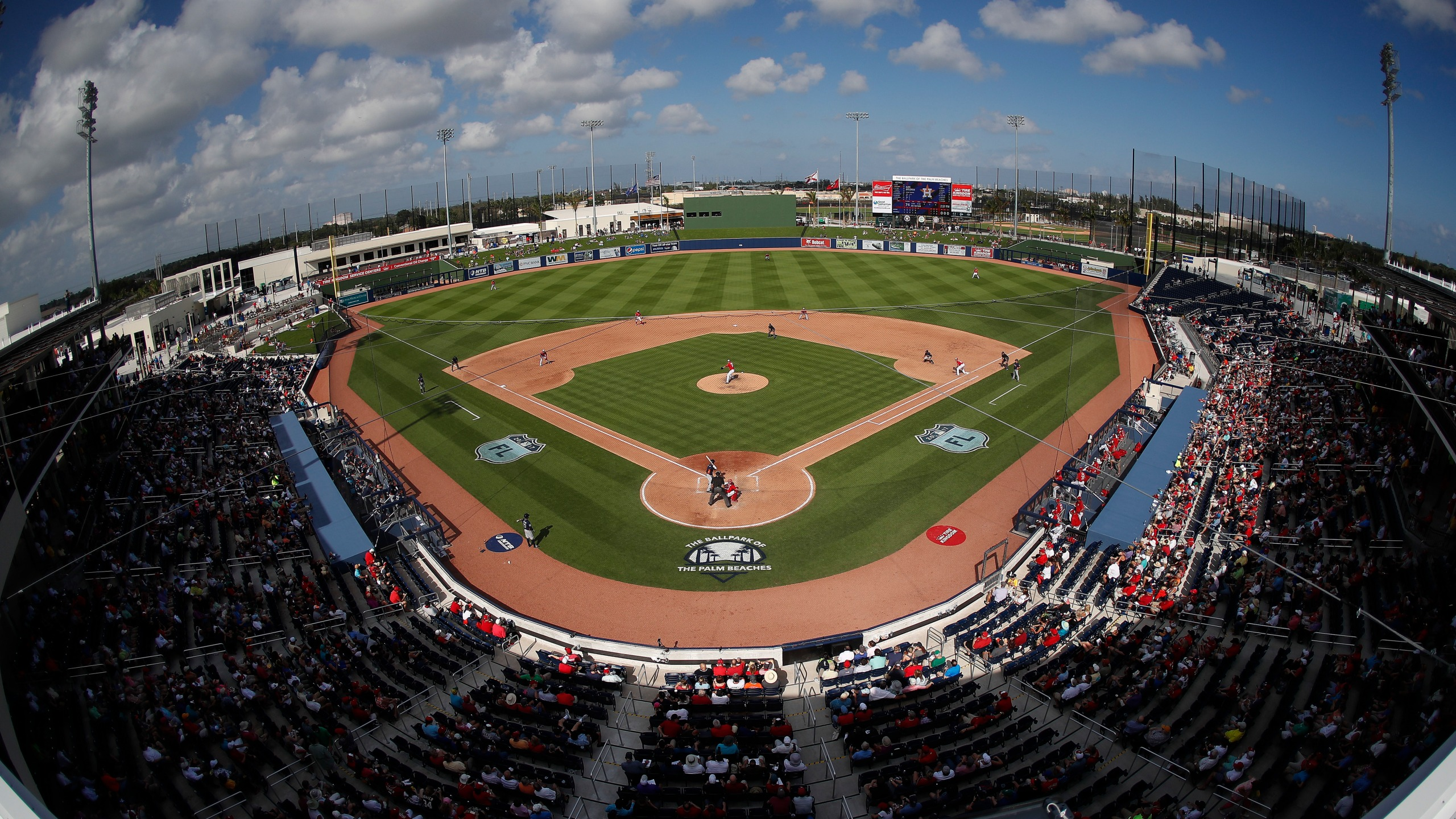 The ballpark of the Palm Beaches