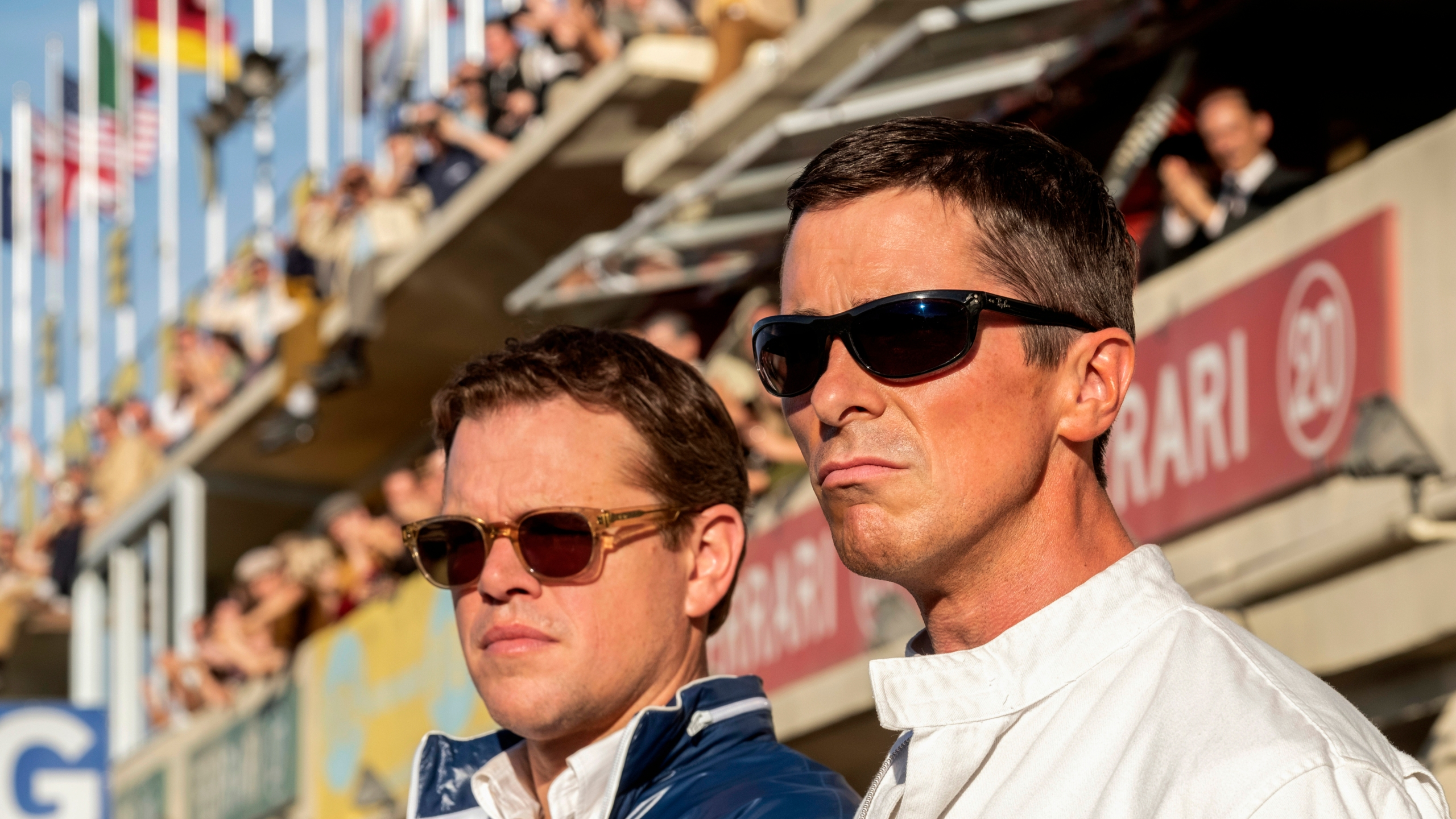 Matt Damon, Christian Bale