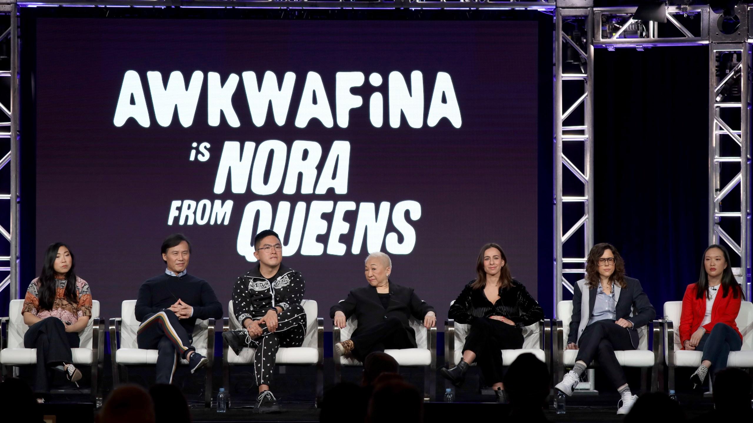 Awkwafina, BD Wong, Bowen Yang, Lori Tan Chinn, Lucia Aniello, Karey Dornetto, Teresa Hsiao