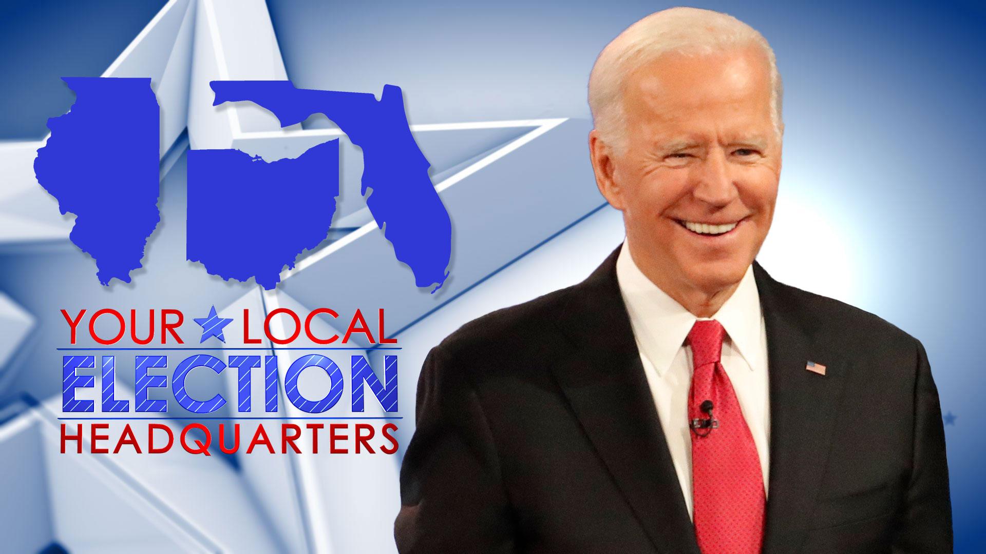 Ohio Illinois Florida Poll Results