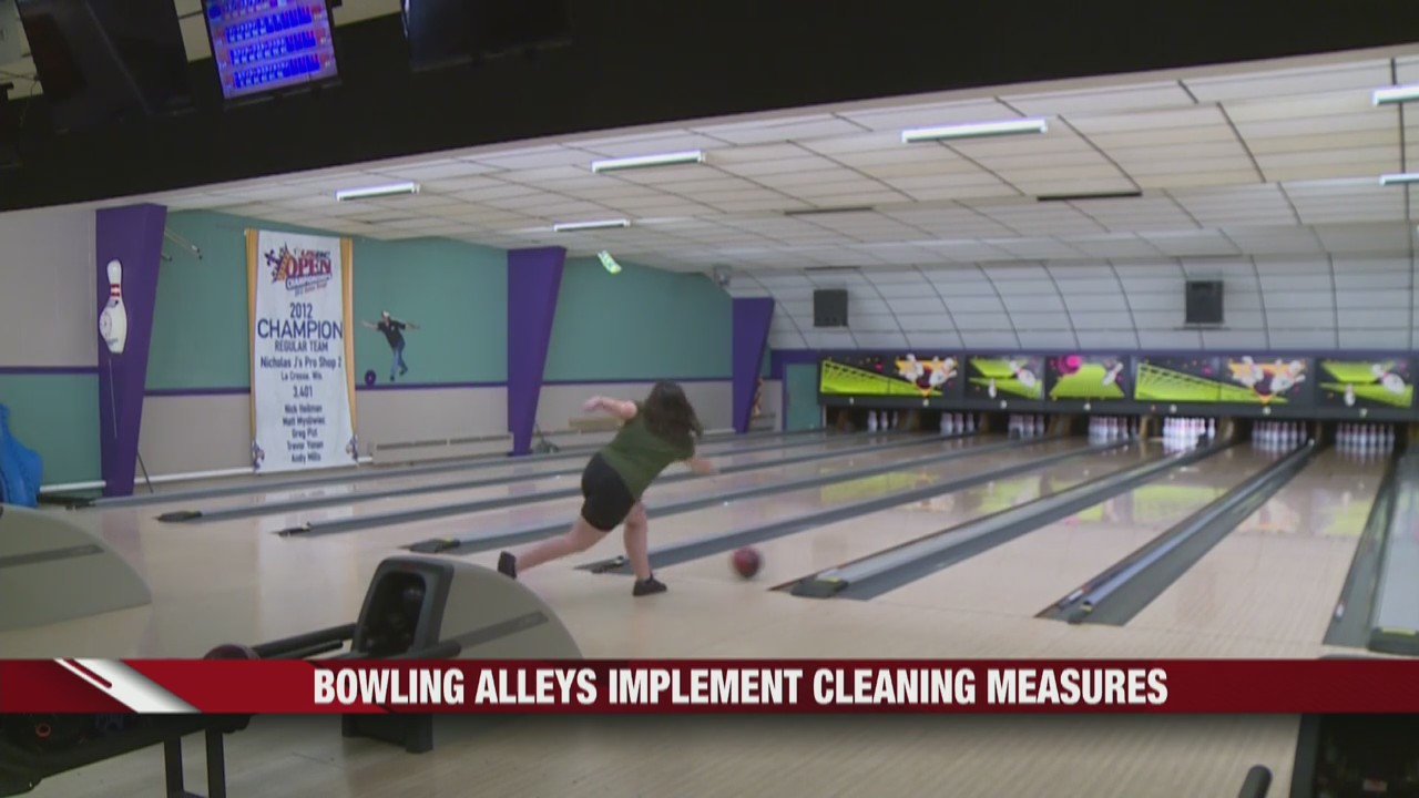 Bowling alleys in Wisconsin begin to open