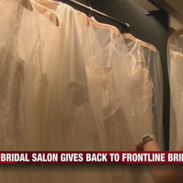 Charlotte's Bridal gives essential workers $300 off wedding gown for brides to be