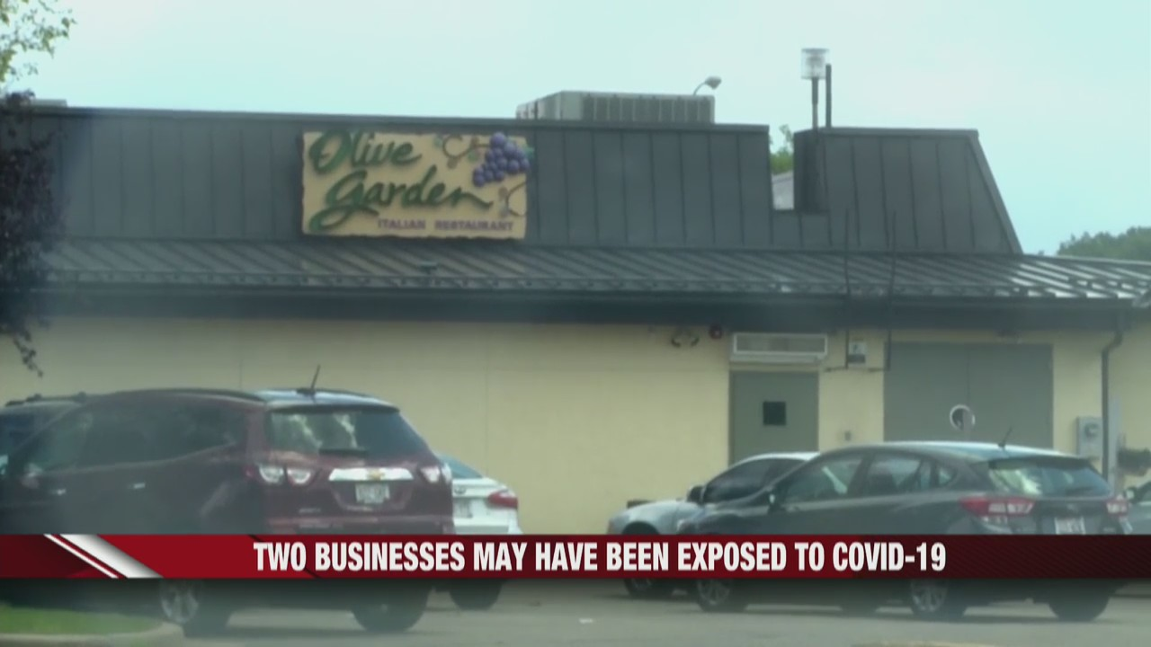 Two Eau Claire businesses exposed to COVID-19