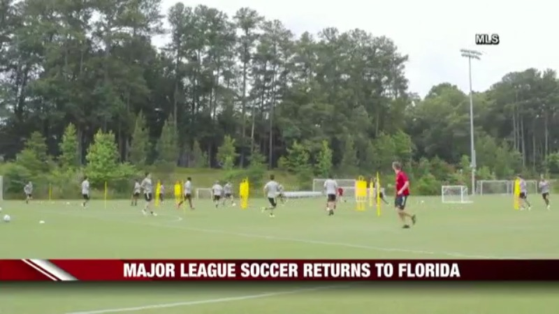 Fox First Afternoon Update Major League Soccer Returns To Florida And More