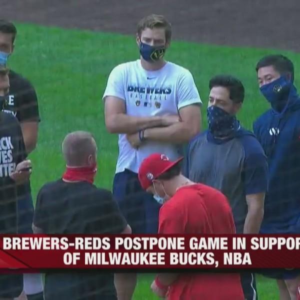 Bucks and Brewers refuse to play games after Jacob Blake shooting