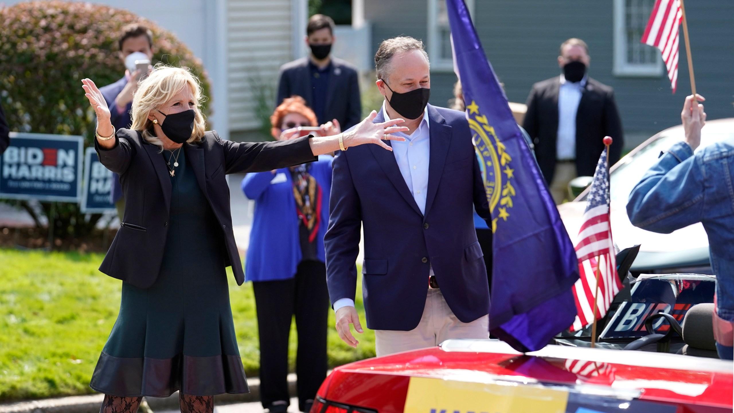 Jill Biden, Doug Emhoff