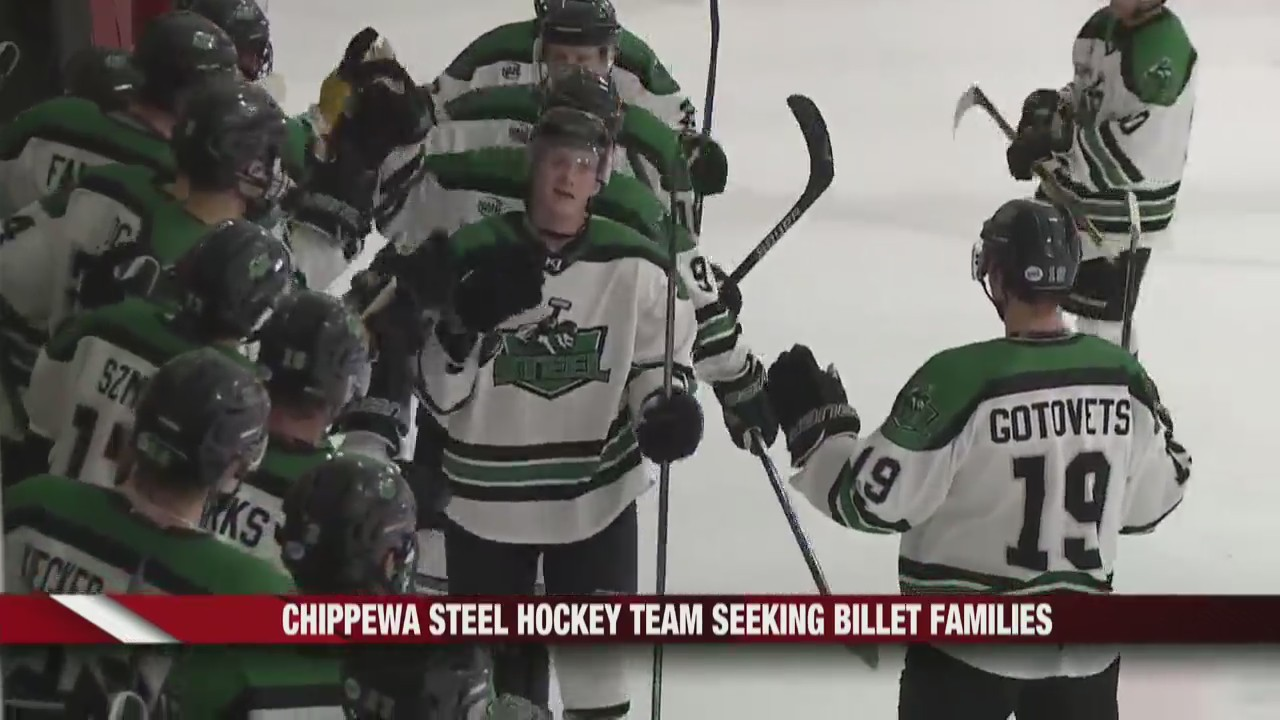 Chippewa Steel Hockey Team seeking billet families