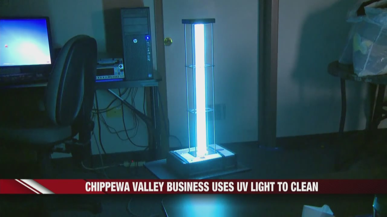 Chippewa Valley business uses UV light to clean