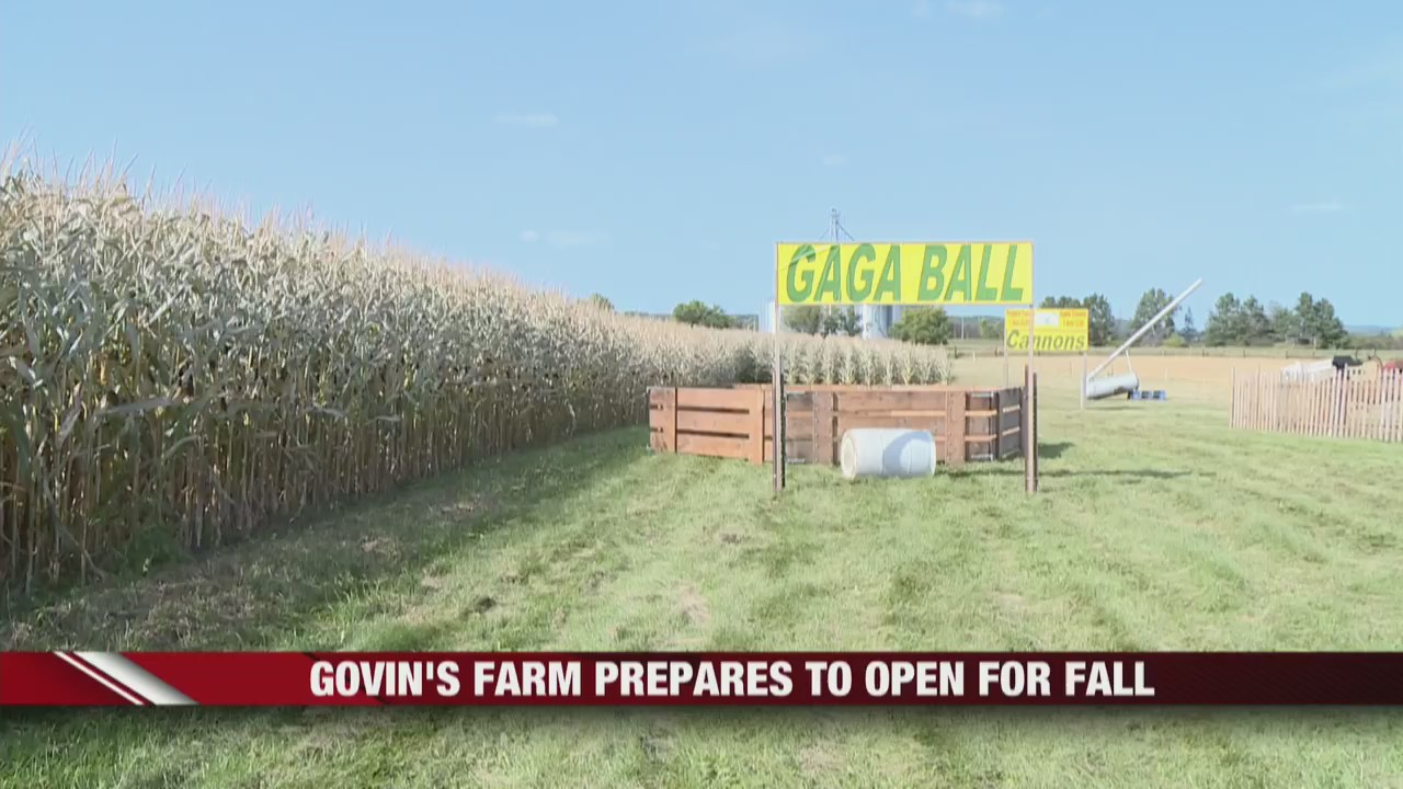Govin's Farm prepares to open for fall season