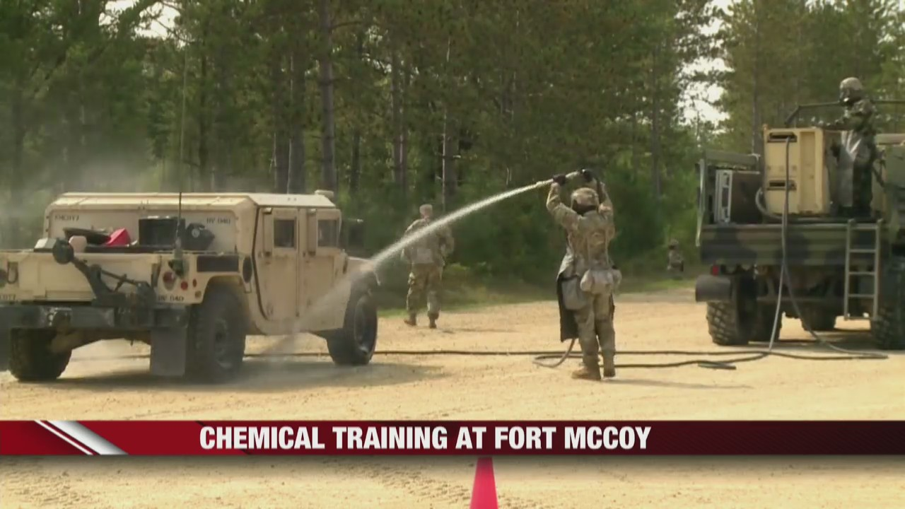 In-depth look at chemical training at Fort McCoy