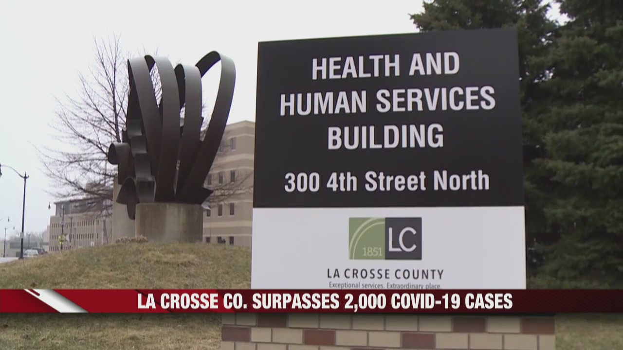 La Crosse County surpasses 2,000 COVID-19 cases