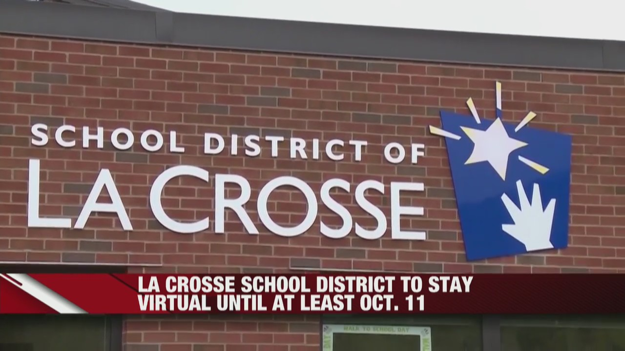 La Crosse School District to stay virtual until at least October 11