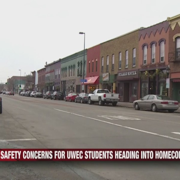 Safety concerns for UW-Eau Claire students heading into Homecoming