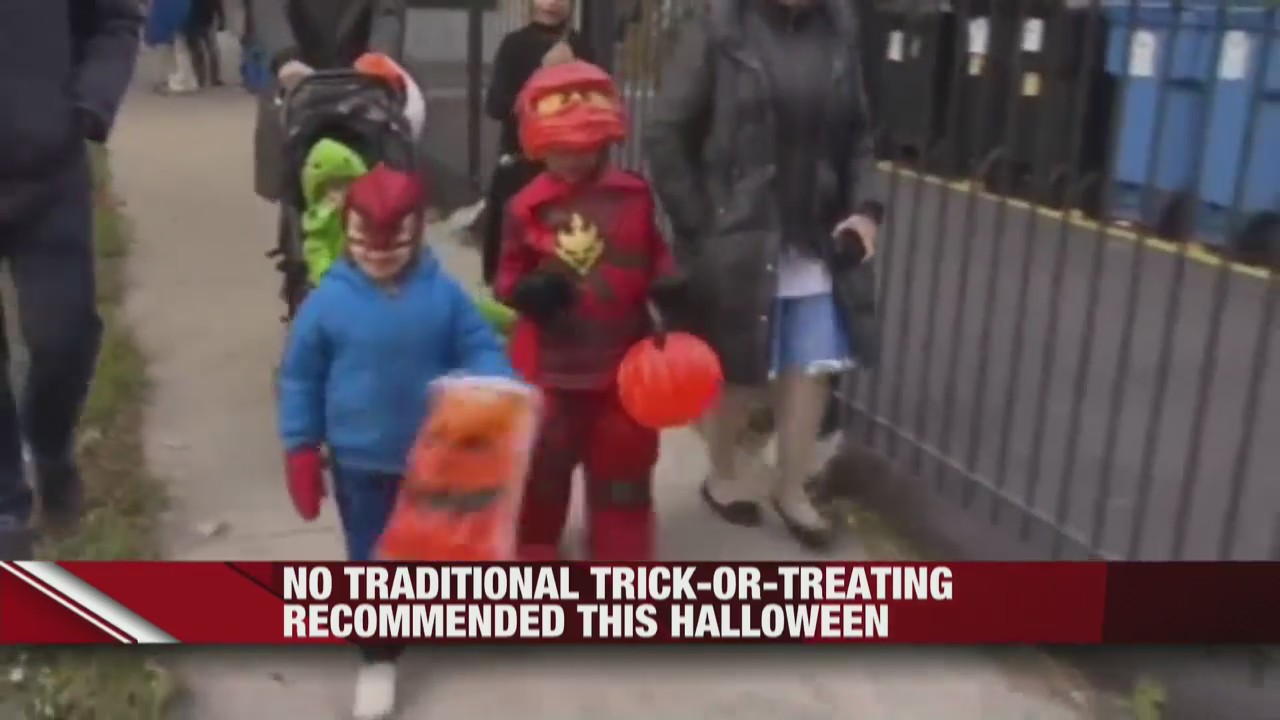 Traditional trick-or-treating not recommended this Halloween