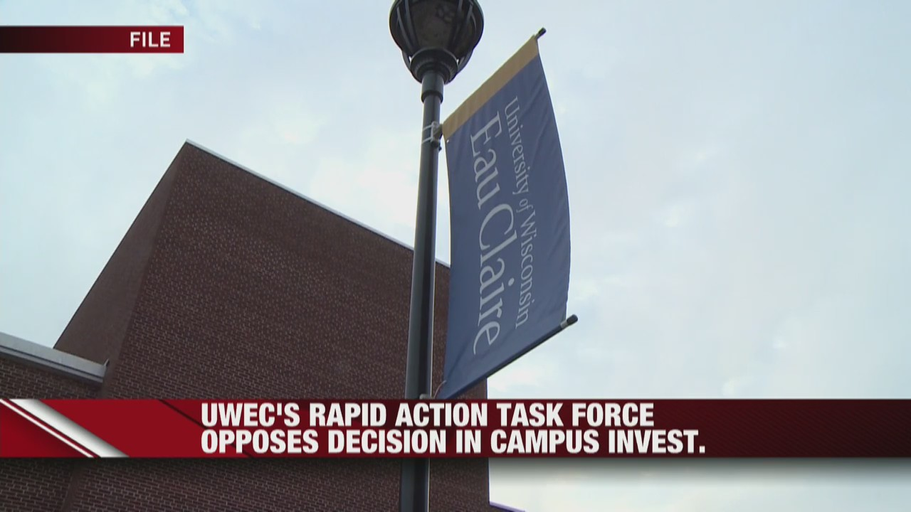 UW-Eau Claire's Rapid Action Task Force opposes decision in campus investigation
