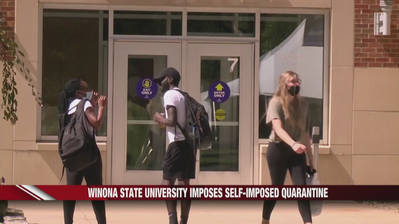 Winona State and UW-Madison react to COVID-19
