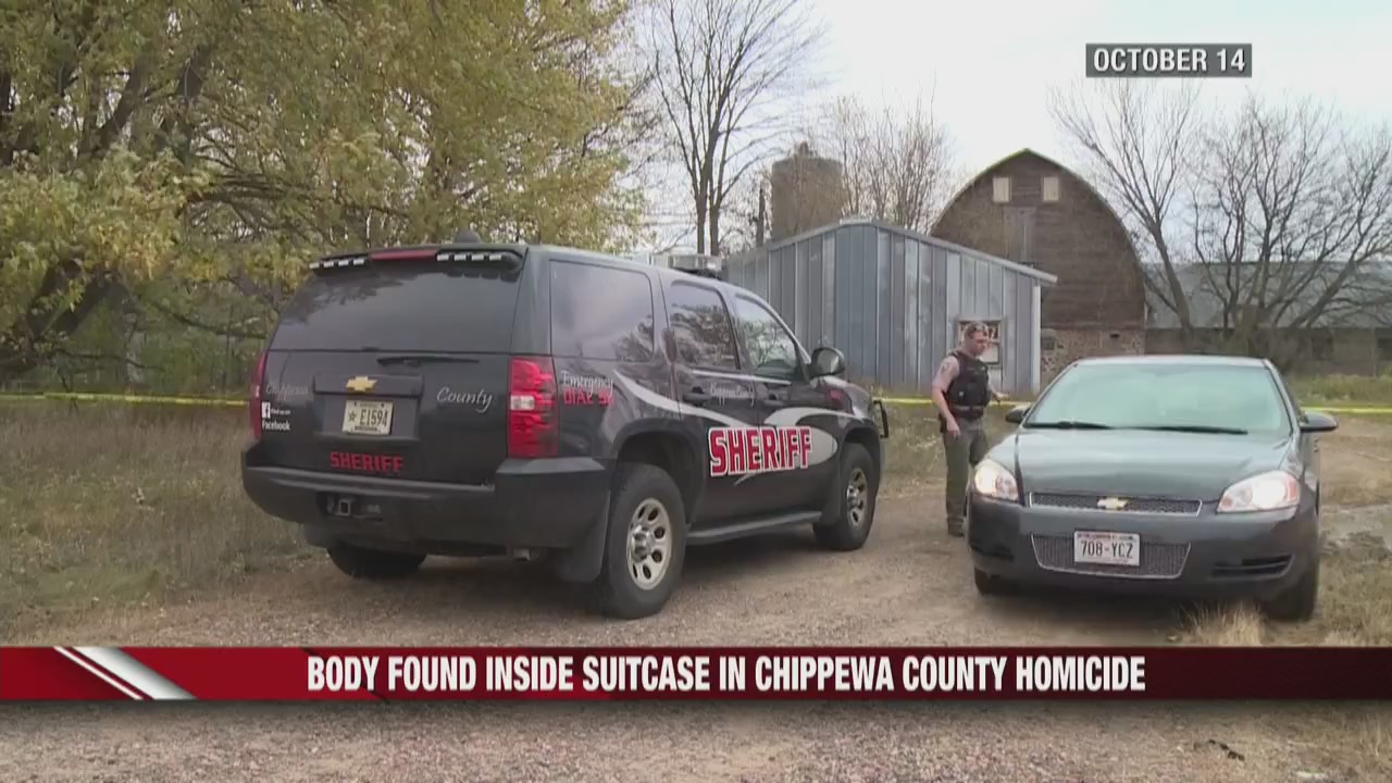 Body found in suitcase on abandoned farm in Chippewa County
