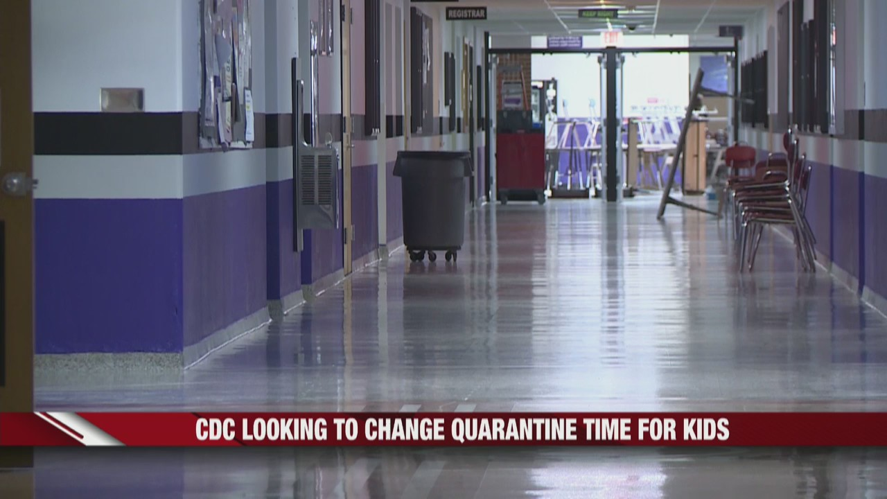 CDC looking to change quarantine length for kids