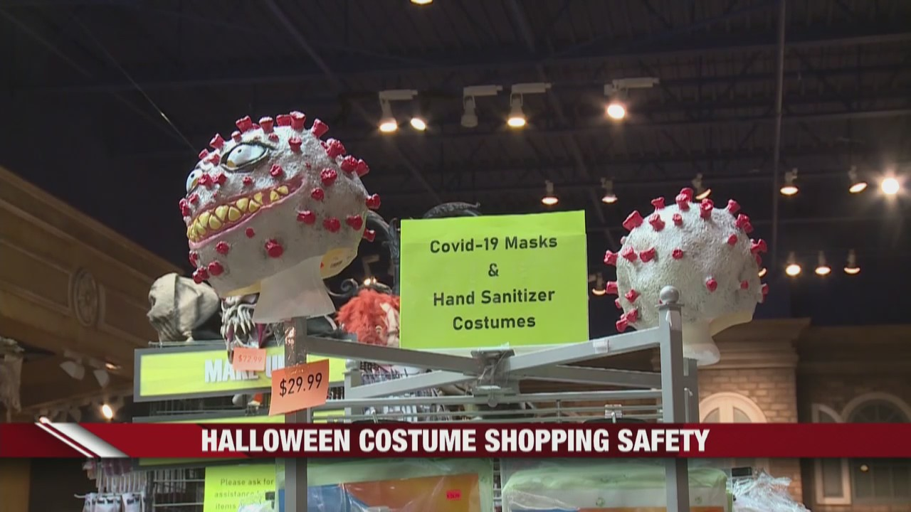 Halloween costume shopping safety