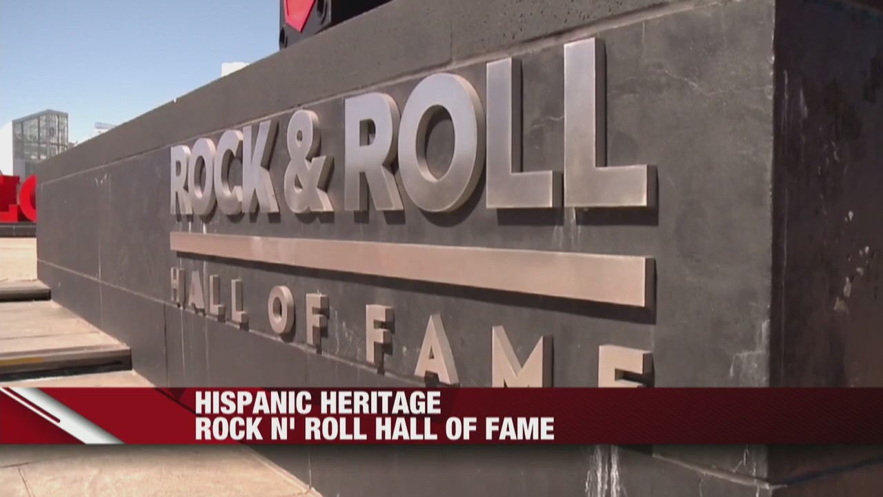 Hispanic Heritage Rock N' Roll Hall of Fame