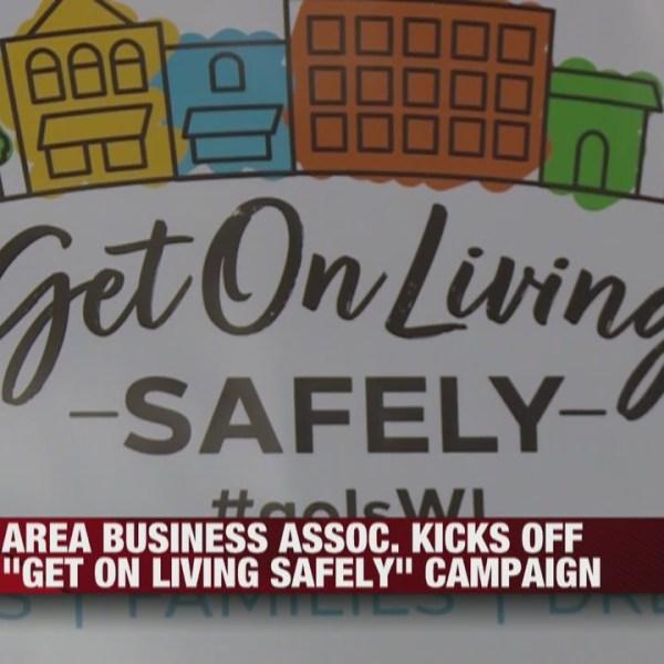 La Crosse Area Business Association kicks of Get on Living Safely campaign