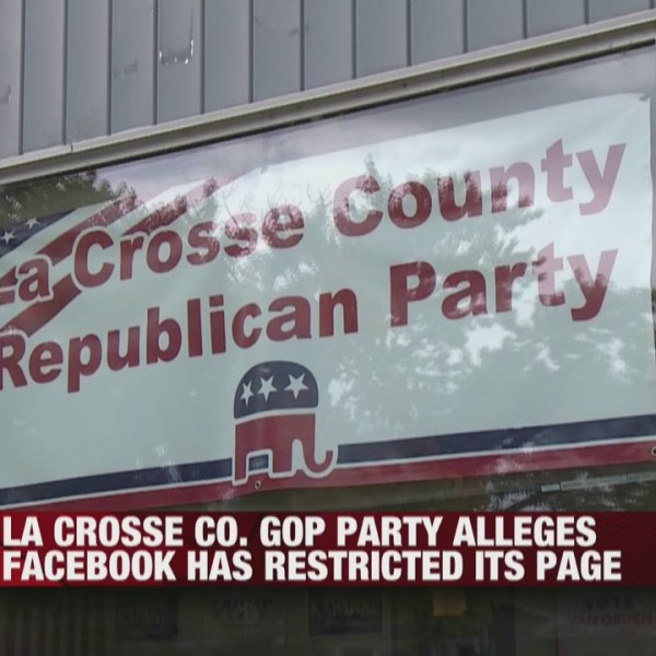La Crosse County GOP Party alleges Facebook has restricted its page