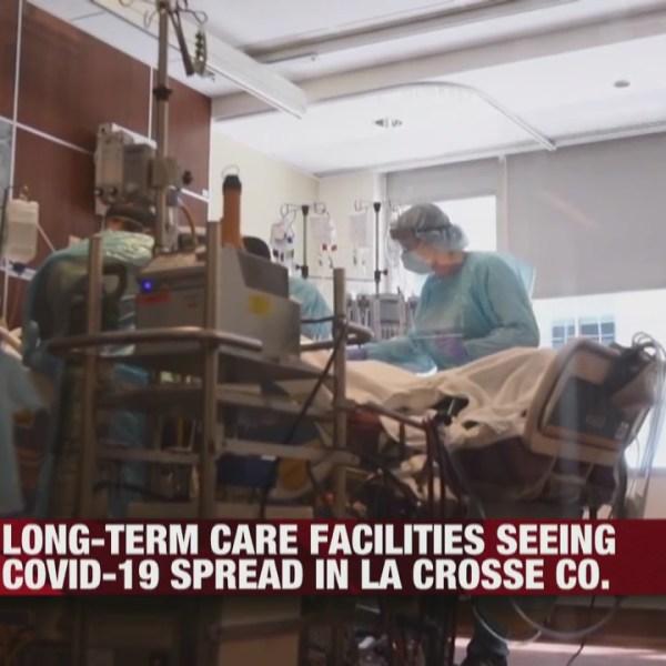 Long-term case facilities seeing COVID-19 spread in La Crosse County