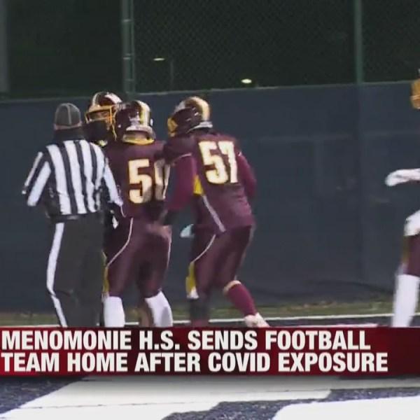 Menomonie High School sends football team home after COVID-19 exposure