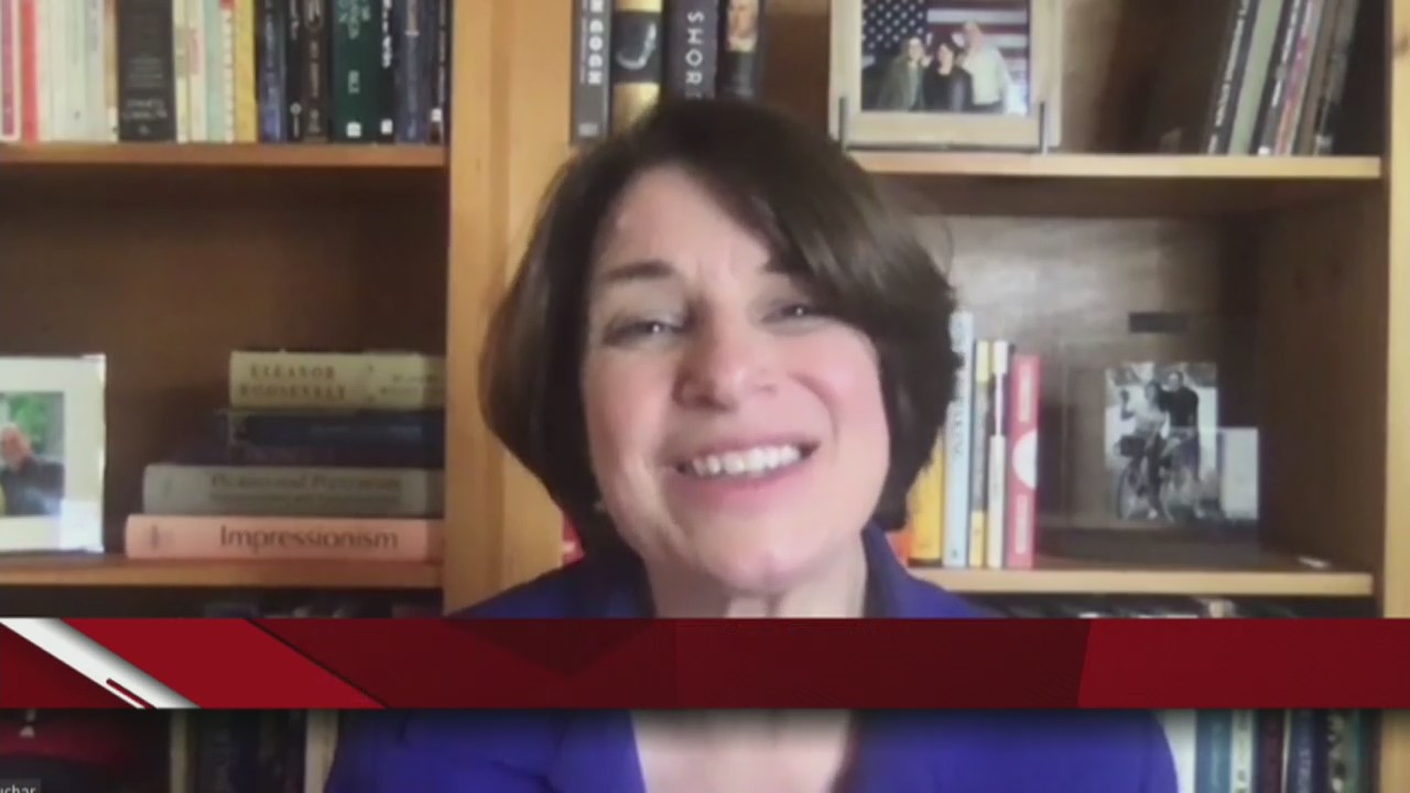 Minnesota Senator Amy Klobuchar says Biden has plan to beat COVID-19