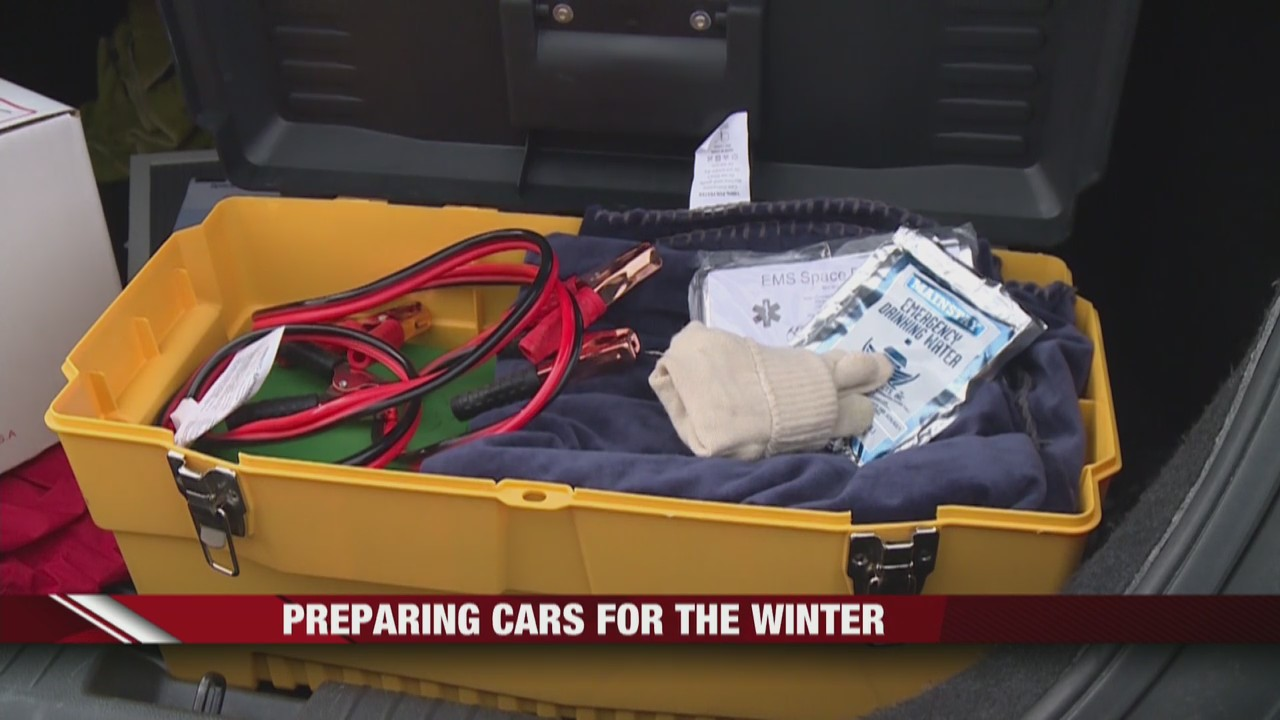 Police encourage drivers to carry safety kits to prepare for winter weather
