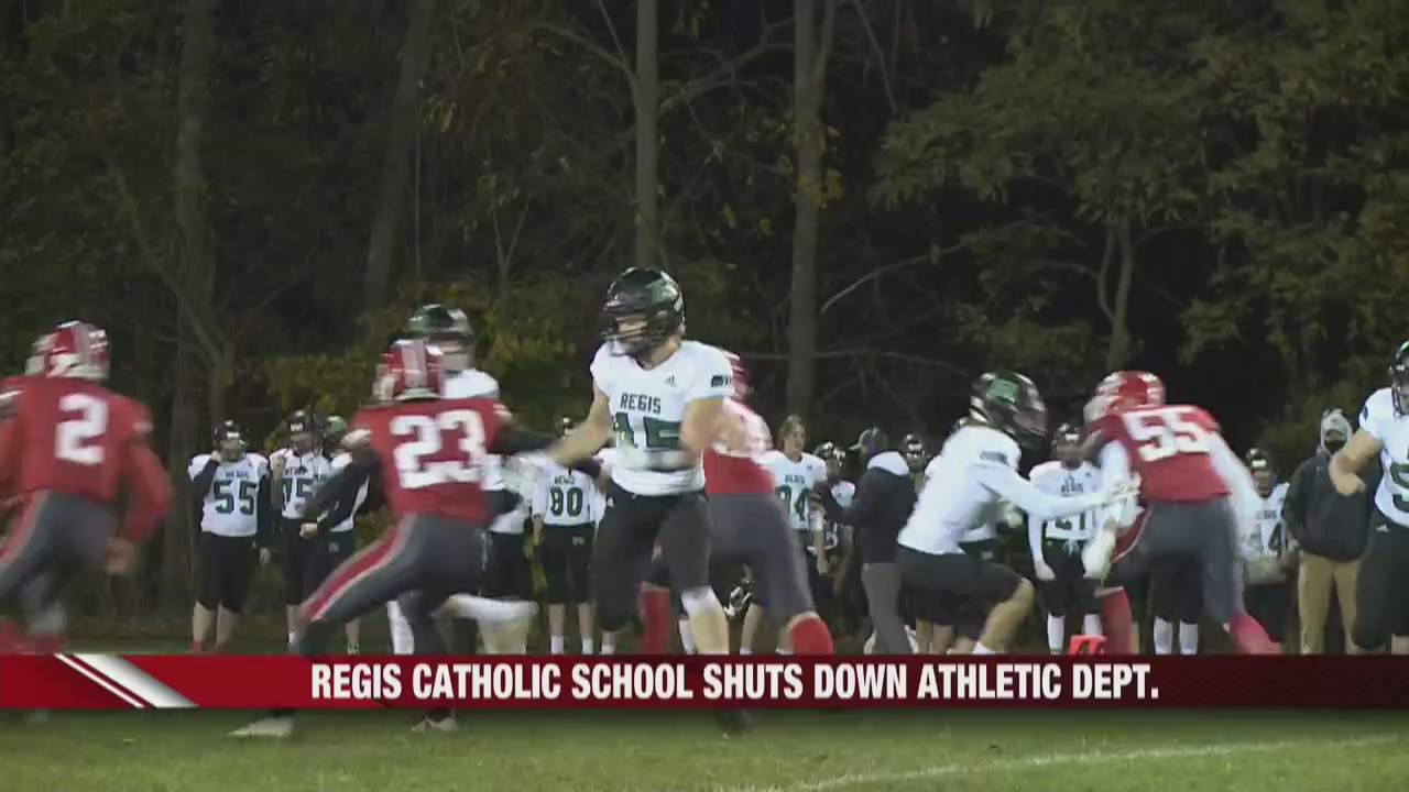 Regis Catholic Schools shuts down Athletic Department