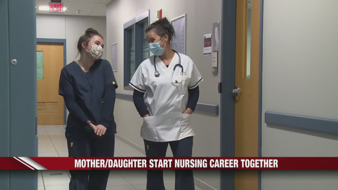 River Falls Mother and daughter starting nursing career together