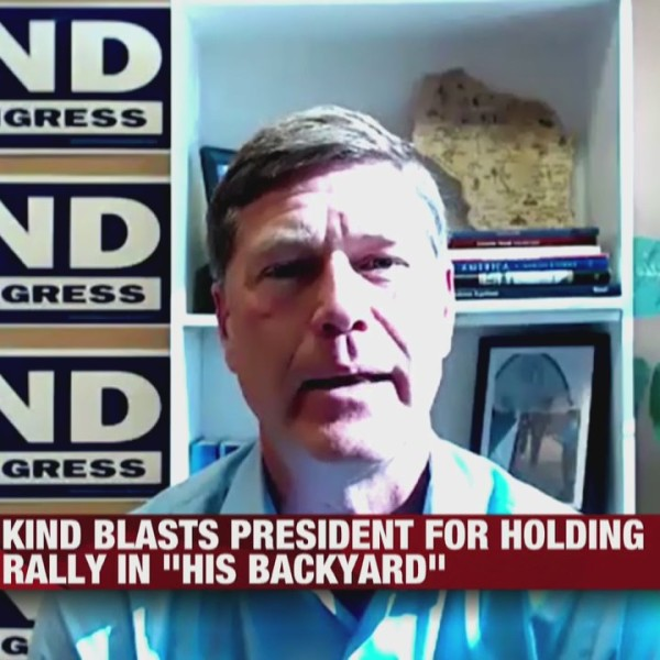 Ron Kind blasts President Trump for holding rally in West Salem